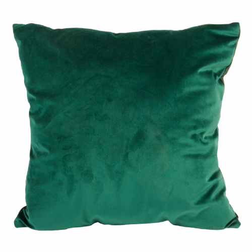 Simple Dark Green Velvet Forest Cushion